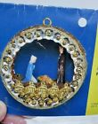 Thomas Boutique NATIVITY Sequin Bead Vintage Christmas Ornament Craft Kit Manger