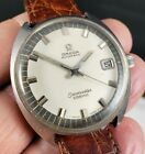 Vintage Mens Omega Seamaster Cosmic Automatic Stainless Steel Watch Cal 752