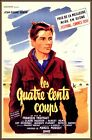 400 BLOWS 1959 Classic French Film By Francois Truffaut Vintage Poster Print