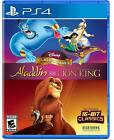 Disney Classic Games Aladdin and the Lion King PS4 NEW FREE SHIPPING