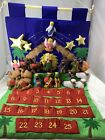 Advent Calendar Nativity Scene Softtoys