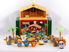 Fisher Price Little People CHRISTMAS STORY Musical Nativity Scene Box
