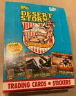 TOPPS DESERT STORM SEALED WAX Box 36 Packs 8 Cards And 1 Sticker Each 1991