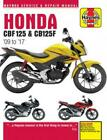 Haynes Workshop Manual Honda CBF125 2009-2017 New Service Repair CBF125F