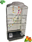 Large Portable Bird Flight Cage Play Toy Canary Aviary Cockatiel LoveBird Finch