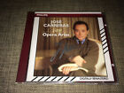 JOSÉ CARRERAS - SINGS OPERA ARIAS - LIMITED HAND SIGNED / AUTOGRAPHED CD PHILIPS