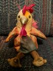 TY Beanie Baby - THE ROOSTER Chinese Zodiac Stuffed Animal Toy