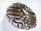 Rare Vintage Brass Paperweight In The Shape of An Egg Artist Signed