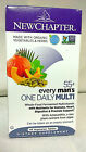 NEW CHAPTER EVERY MANS ONE DAILY MULTI 55+ 48 VEGETARIAN TABLETS EXP 01 20