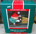 Hallmark Keepsake Ornament 1989 Hark! It's Herald #1 Chimes