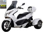 FREE SHIP ICE BEAR Q6 Motor Trike Tricycle Gas Scooter 49cc 50 Moped +