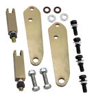 Pair highway foot peg mount kit for Harley-Davidson Dyna Convertible FXDS 94-00