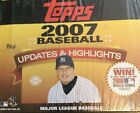 2007 Topps Updates & Highlighs Baseball Jumbo Box Look 4 1 1 RC Autos & More!