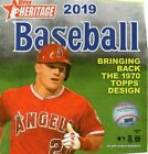 2019 Topps Heritage Hobby Box Baseball Unopened w auto or relic and Boxtopper