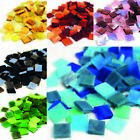 Mini Stained Glass tiles Mosaic tiles for arts and crafts 100g Various Colours