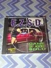 E.Z.S.D,Game 2 Be Sold cd,1995, 1st.print,pizzo,skip dog,lil ric,bay area,g-funk