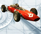 Auto  Drawings Scale 1/12 1/16 1/24 & 1/32  Ferrari 1963 F1 V6 Digital   on CD