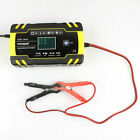 Car Battery Charger 1224v With Lcd Display Agm Automatic For Car Motorcycle