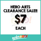 CLEARANCE SALE Hero Arts Clear Stamps 7