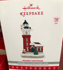 2017 Holiday Lighthouse Hallmark Light Ornament #6 In Series New