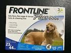FRONTLINE Plus for Medium Dogs 23 44 lbs Flea and Tick Treatment 3 Doses