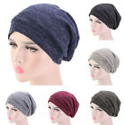 Unisex Men Women Sleep Night Cap Beanie Hat Turban Chemo Cap Slouch Baggy Warm