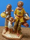 FONTANINI THE PILGRIMS 5 INCH NATIVITY ITALY NEW RARE LAST ONE