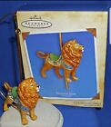 2004 Hallmark Keepsake Ornament Majestic Lion  Carousel Ride with Box 1st Series