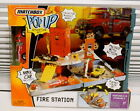 2006 FIRE STATION vehicle ENGINE Pop Up Adventure Set Matchbox Retired NEW