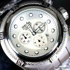 Invicta Reserve Bolt Zeus Swiss Made 52mm Stainless Steel White MOP Watch New