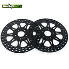 Pair Front Brake Rotors For Dyna 1340 FXDWG FXDS Low Rider FXRS Sport Glide FXRT