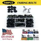 Fairing Bolts Complete Kit Fastener Clips For Kawasaki Concours 14 ABS 11-15