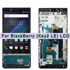 For BlackBerry KEY2 LE BBE100 BBE100-4 BBE100-5 LCD Touch Screen Digitizer Frame