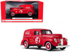 1940 Ford Sedan Delivery Van Coca Cola Red 1 24 Diecast Model Car by Motorcity