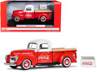 940 Ford Pickup Truck Coca Cola Red and White Coca Cola Cooler 1 24 Diecast