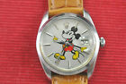Mans Vintage  Rolex Oyster 6694 with Custom Mickey Mouse Dial