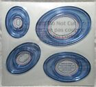 New Creative Memories Custom System Oval Cutting Patterns Set of 4