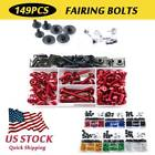 CNC Alloy Anodized Fairing Bolts Kit Fastener Clips For Yamaha YZF-R1S 2016