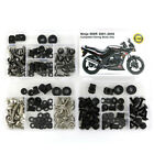 For Kawasaki Ninja500R 2001-2009 Steel Complete Fairing Bolts Fasteners Kit