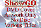 COVERS - DVD Movie Cover Artwork Only - No Discs