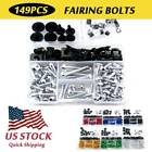 Fairing Bolts Complete Kit CNC Fastener Clips Screws For BMW R 1100S 1999-2006