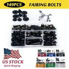 CNC Alloy Anodized Fairing Bolts Kit Fastener Clips For BMW R1200 RT 2014-2019