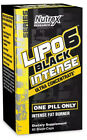 Nutrex Research Lipo-6 Black INTENSE Ultra Concentrate Weight Loss Caps 60 - NEW