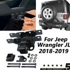 1x Durable Black Steel 2 Inch Trailer Hitch Receiver For 18-19 Jeep Wrangler JL