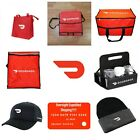 All New Doordash Bags Insulated Tote Catering Pizza Biker Red Card 1 Day Ship