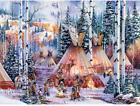 Bits And Pieces 1000 Piece Glow In The Dark Puzzle The Bear Spirit Native A