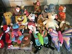 Ty Beanie Babies Collection of 17