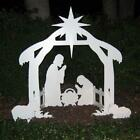 Teak Isle Outdoor Nativity Set  Weatherproof Outdoor Nativity Scene For Yards A
