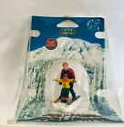 LEMAX VILLAGE FATHER AND SON SKIING -  ITEM # 62169