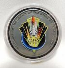 NASA Commemorative Coin Metal Flown Space Shuttle Mission Complete 1981 2011 S